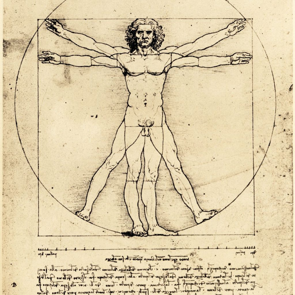 Image of the Vitruvian Man for Body Mind Psych. This could represent the importance of connecting with the body. We offer somatic therapy in Pasadena, CA. Somatic experiencing therapy can help you feel more in tune with yourself. Contact a somatic therapist for more information! 91101 | 90026 | 90042 | 90065